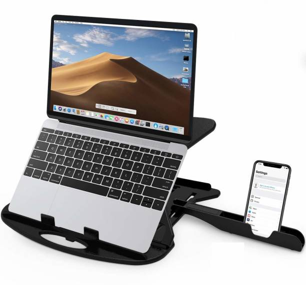 STRIFF Adjustable Laptop Stand with mobile stand Laptop Stand