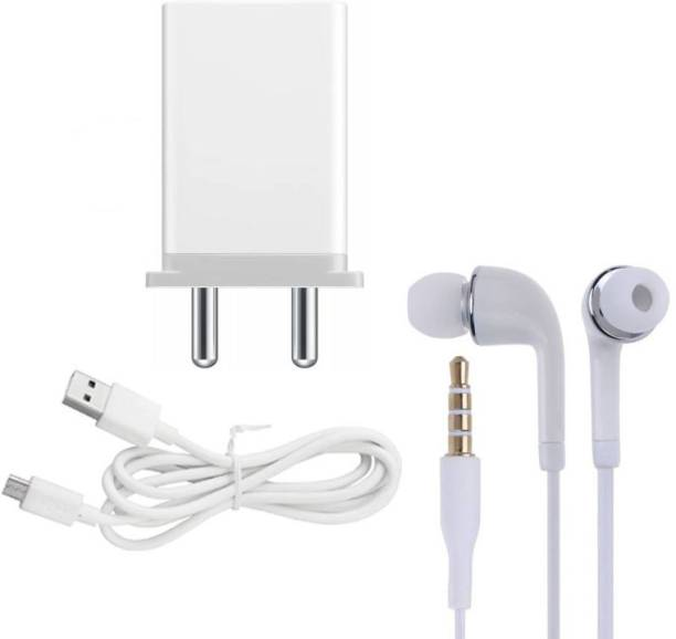 Badger Wall Charger Accessory Combo for Oppo A15, Oppo A15s, Oppo A12, Oppo A31 2020, Oppo A11K Original Adapter Like Wall Charger, Mobile Power Adapter, Fast Charger, Android Smartphone Charger, Battery Charger, High Speed Travel Charger With 1 Meter Micro USB Cable