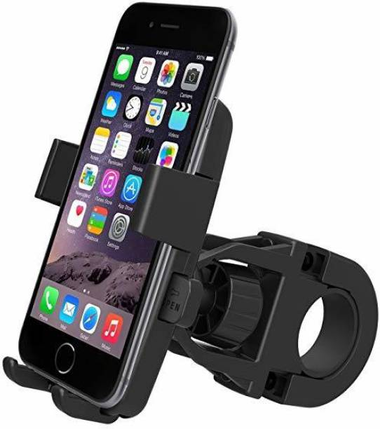 AlexVyan Cycle Mobile Holder for All Bike and Bicycle Adjustable and 360 Degree Rotation Bicycle Phone Holder