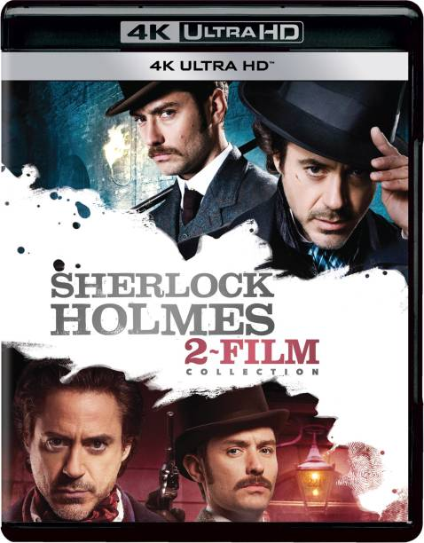 Sherlock Holmes: 2 Movies Collection - Sherlock Holmes + A Game of Shadow (4K UHD) (2-Disc)
