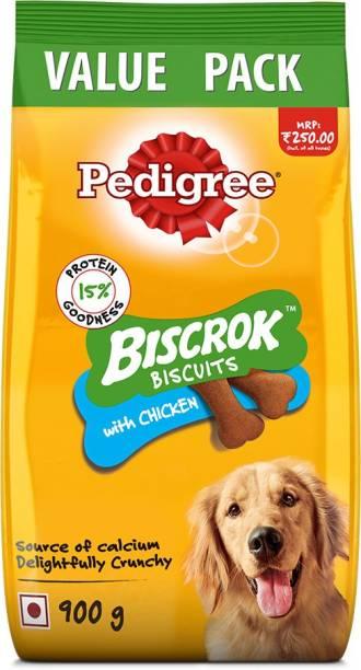 PEDIGREE Biscrok Biscuits (Above 4 Months) Chicken Dog Treat