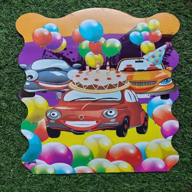 BOOKMYBALLOONS cake&car Paper Pinata Khoi bag Pull String Pinata