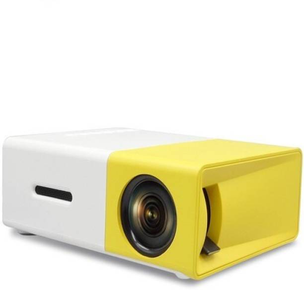GLOSS 400 lm LED Corded Portable Projector