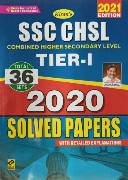 Kiran Ssc Chsl Tier-I 36 Sets 2021 (English)