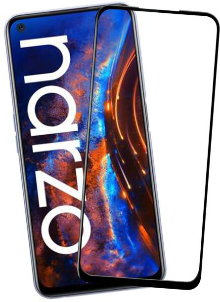 VAlight Edge To Edge Tempered Glass for Realme Narzo 30 Pro, Realme Narzo 30 Pro 5G