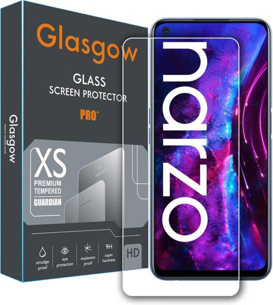 Glasgow Tempered Glass Guard for Realme Narzo 30 Pro