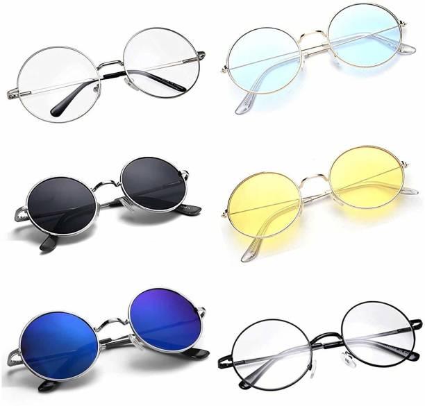 ZARSHA Round Sunglasses
