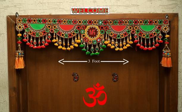 narya traditional Door Toran for Home Décor- Size 3 feet Toran