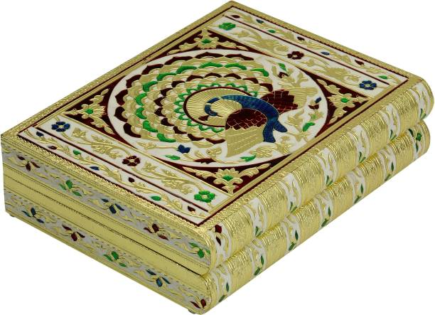 navrang Jewelry Box Wedding gift Box Bangle Box Rakhi Gift Vanity Box Jewellery and Mack-up Box, Wedding, Bangle Box Vanity Box