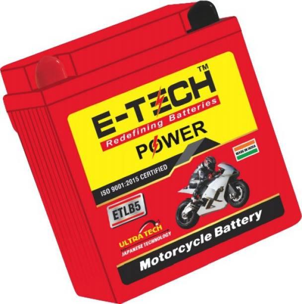 Etech ETLB5 5 Ah Battery for Bike