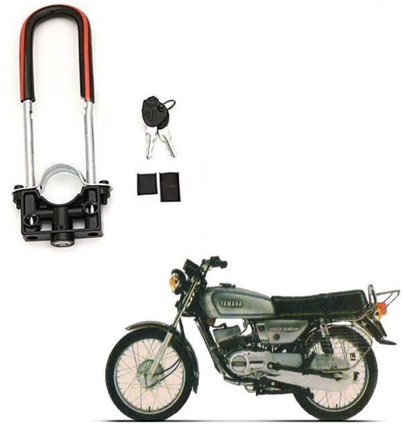 BRPEARl Bike Front Shocker Wheel Lock-178 Bike Front U-Type Anti Theft Wheel Lock For Yamaha RX 100 Wheel Lock