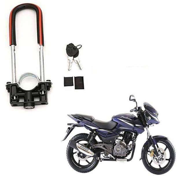 BRPEARl Bike Front Shocker Wheel Lock-153 Bike Front U-Type Anti Theft Wheel Lock For Bajaj Pulsar 180 DTS-i Wheel Lock