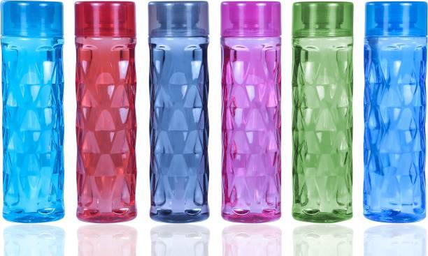Lion Lender Customers Choice Diamond Design Premium Quality Water Bottles For School,Office 1000 ml Bottle