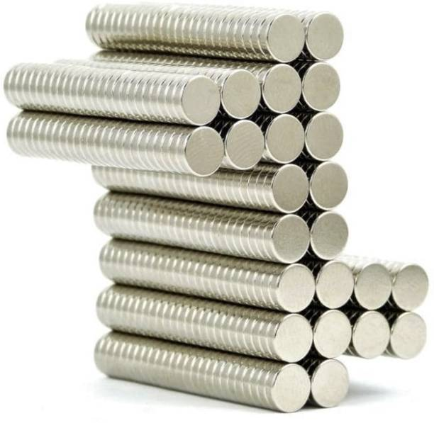 ART IFACT 500 Pieces of 8mm x 1.5mm Neodymium Magnets - N52 Disc / Cylindrical magnets - Rare Earth NdfeB Fridge Magnet, Multipurpose Office Magnets, Magnetic Paper Holder Pack of 500