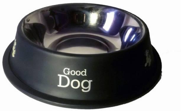 ALCAZAR Round Stainless Steel Pet Bowl
