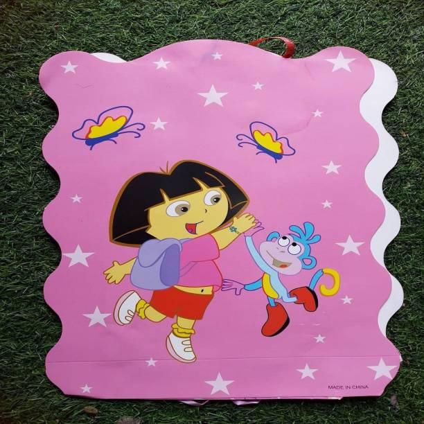BOOKMYBALLOONS dora cartoon Paper Pinata Khoi bag Pull String Pinata