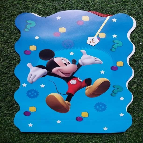 BOOKMYBALLOONS BookMyBalloons Mickey Mouse Paper Pinata Khoi bag Pull String Pinata