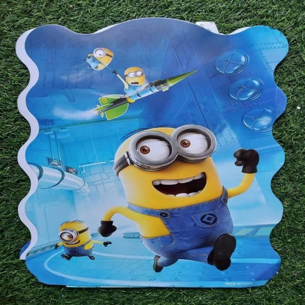 BOOKMYBALLOONS Minions4 Paper Pinata Khoi bag Pull String Pinata