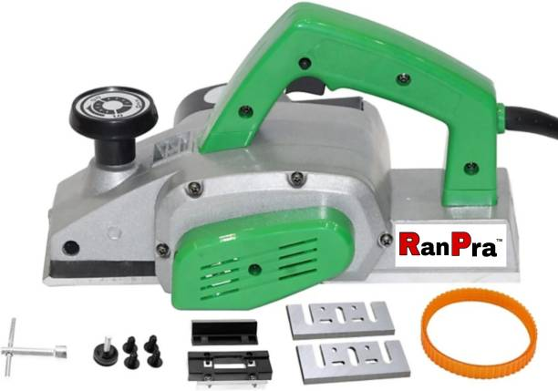 RanPra ELECTRIC POWER PLANER 82 MM HEAVY DUTY FOR WOOD WORKING Corded Planer