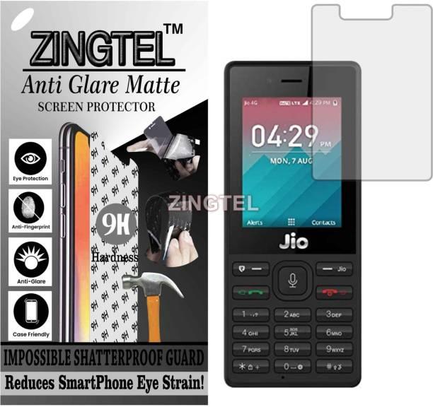 ZINGTEL Impossible Screen Guard for JIO LYF F50 (Shatterproof Matte)