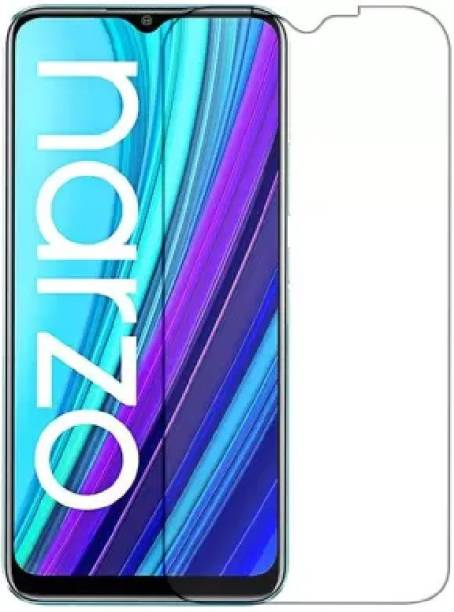 ISAAK Tempered Glass Guard for Realme Narzo 30a