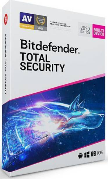 bitdefender Total Security 1 User 1 Year