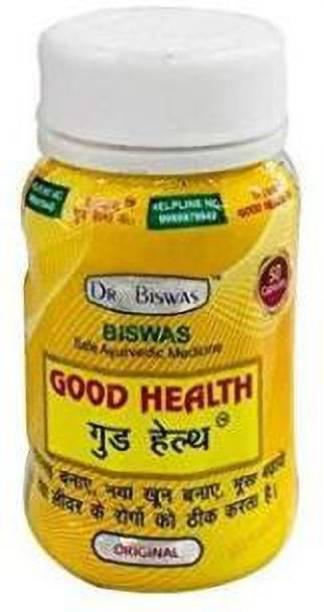 Dr. Biswas Ayurvedic Good Health (Pack of 1, 50 Tab)