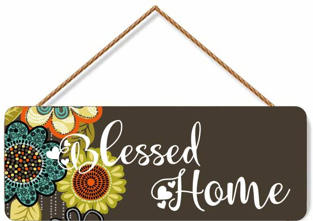 Brothers creation Design Door Hanging Wall DecorPlaque Sign for Room Decoration