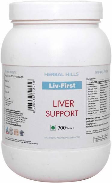 Herbal Hills Liv First Value Pack 900 tablets