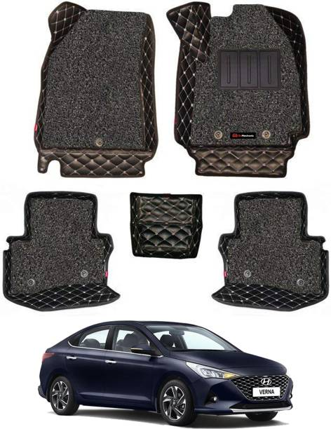 GoMechanic Leatherite 7D Mat For  Hyundai Verna