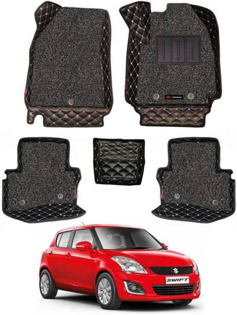 GoMechanic Leatherite 7D Mat For  Maruti Suzuki Swift