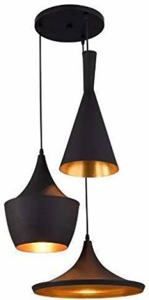 HomesElite Hanging Lights for Dining Table Ceiling Pendant Lamp Scones Cluster Home Decoration Chandelier Roof Light for Home, Living Room, Bedroom,Hall, Indoor Outdoor Jhumar Lighing (BULB NOT INCLUDED) Chandelier Ceiling Lamp