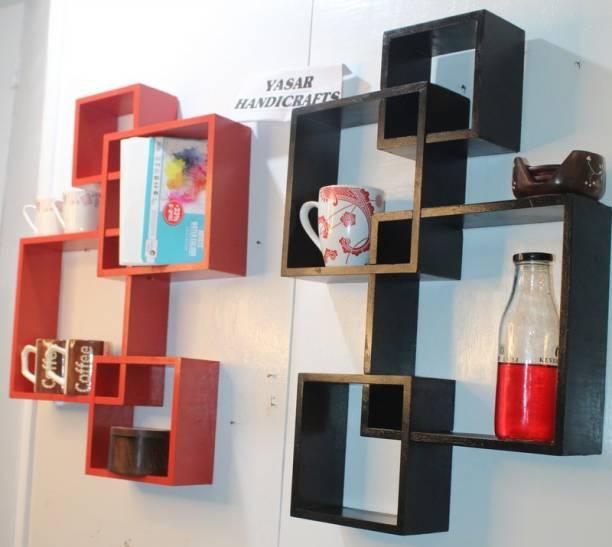 Yasar Handicrafts Engineered Wood Display Unit