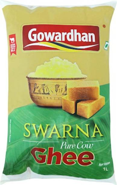 Gowardhan Swarna Ghee 1 L Pouch