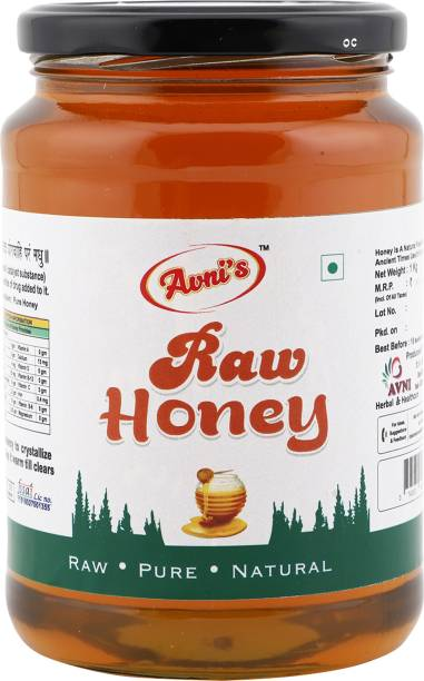 avni's Raw Honey Pure ,Tastier and Healthier Honey 1kg