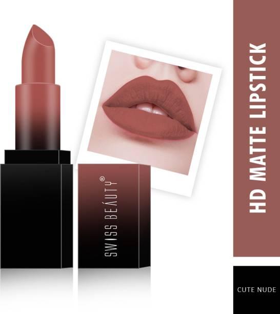 SWISS BEAUTY HD Matte Lipstick (SB-212-09)