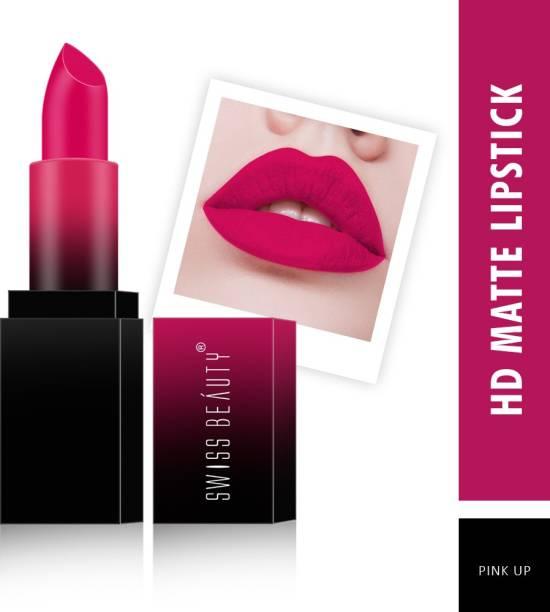 SWISS BEAUTY HD Matte Lipstick (SB-212-15)