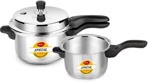 Pigeon Special Stainless Steel Outer Lid 3.5 Litre + 5 Litre 5 L, 3.5 L Pressure Cooker