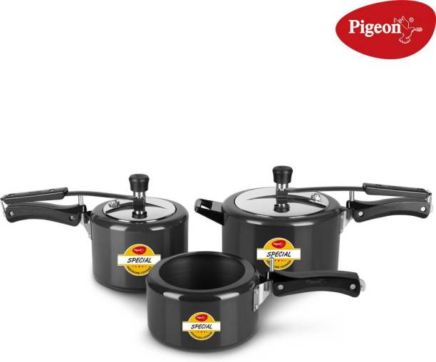 Pigeon Special Combi 2 L, 3 L, 5 L Induction Bottom Pressure Cooker