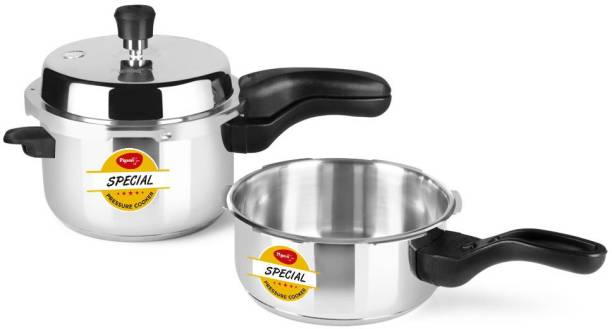 Pigeon Special Combi 2 L, 3 L Induction Bottom Pressure Cooker