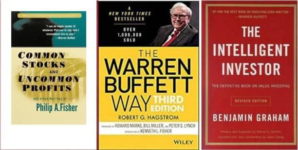 The Intelligent (English) Paperback + The Warren Buffett Way (Paperback, + Common Stocks