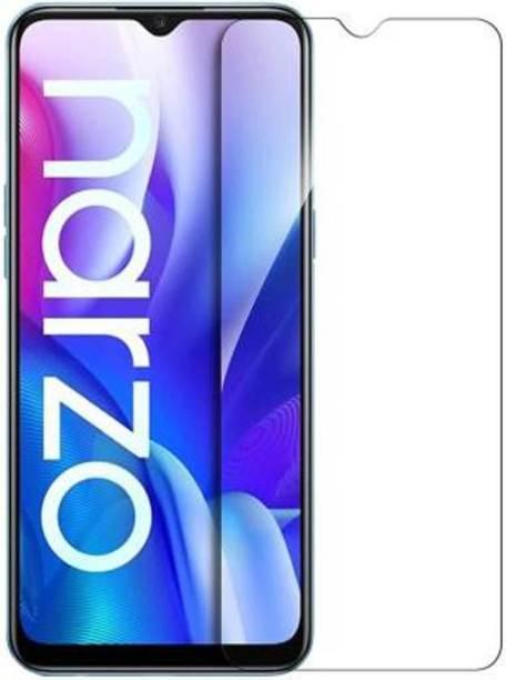 EASYBIZZ Tempered Glass Guard for Realme Narzo 30A