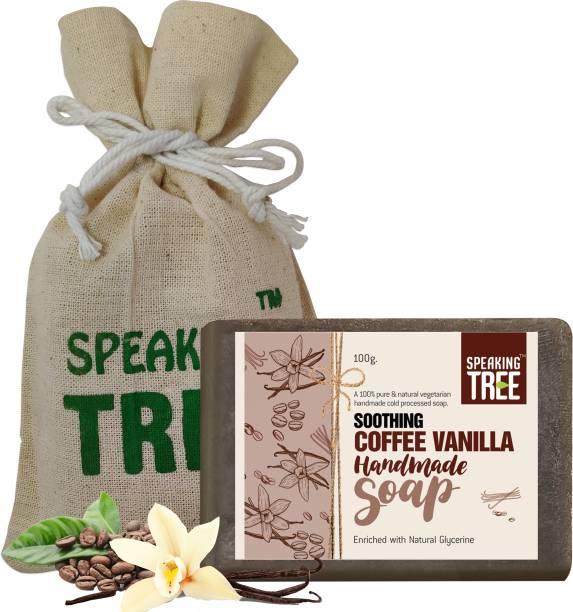 Speaking tree Soothing Coffee & Vanilla Handmade Soap - 100gms