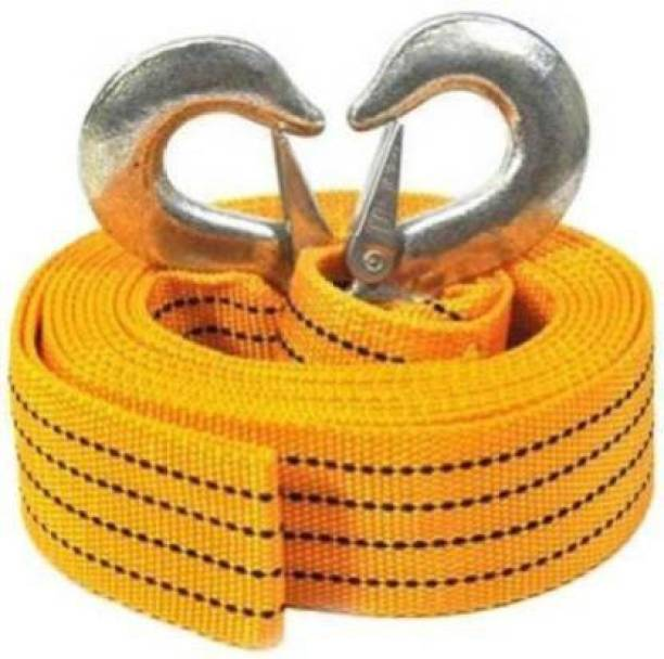 Jetnix Heavy Duty Towing Rope Tow Strap With Safety Hooks 3 m Towing Cable (Polyresin, 3000 kg Pull Capacity) 3m Towing Cable 3 m Towing Cable
