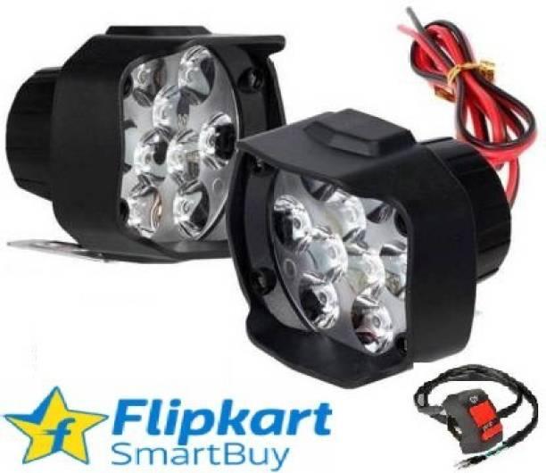 Flipkart SmartBuy CDFS824 Fog Lamp LED Fog Lamp, Headlight Motorbike, Van, Car LED (12 V, 15 W)