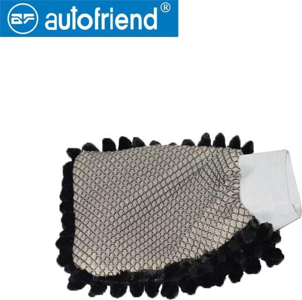Autofriend Microfiber Vehicle Washing  Washing Mitt Hand Glove