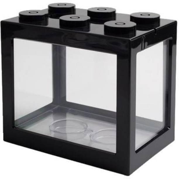Askadeal Betta tank small aquarium Cube Aquarium Tank