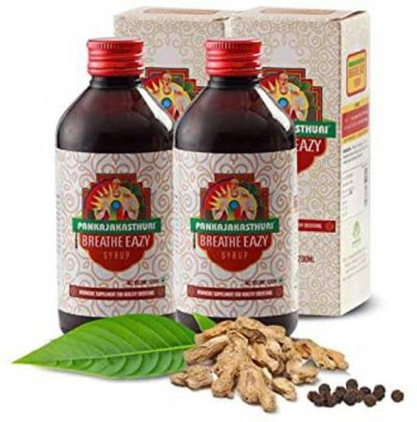 PANKAJAKASTHURI Breathe Easy Syrup