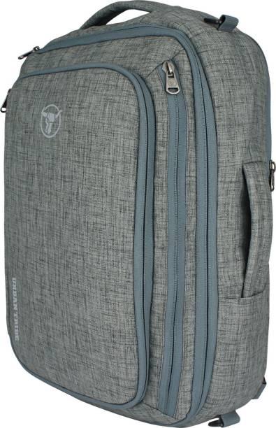 Urban Tribe Trans4mer v2.0 Ash Melange Multipurpose Laptop Backpack cum Messenger Bag cum overnighter cum Briefcase 20 L Laptop Backpack
