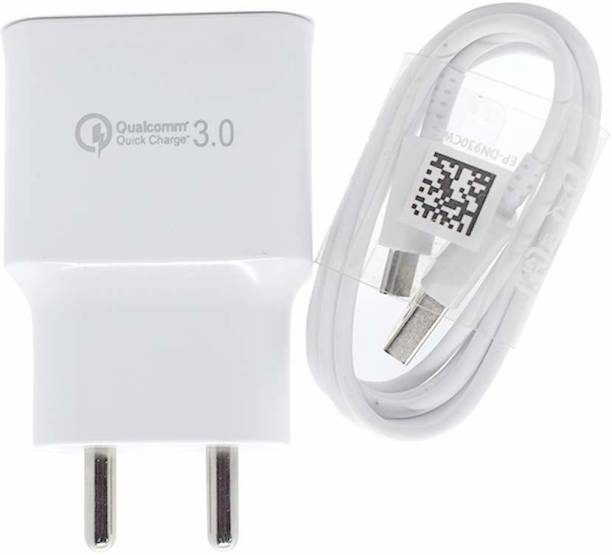 MR R KING&QUEEN SSAMMSUNG Galaxy M20 /M30 /M40 /A10s /A20s /A30s /A40s /A50s /A20 /A30 /A30 10 W 2.4 A Mobile Charger with Detachable Cable